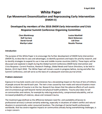 Download EMDR EI White Paper